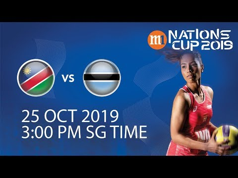Namibia🇳🇦 vs 🇧🇼 Botswana | M1 Nations Cup 2019