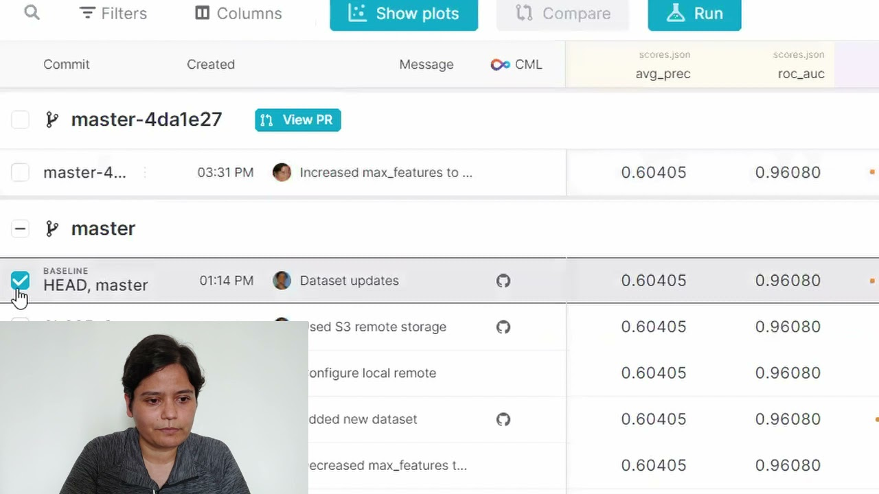 Automation of Your ML Process with DVC Studio