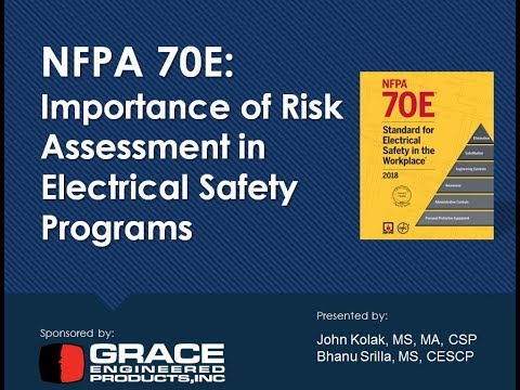 Webinar - NFPA 70E: Importance Of Risk Assessment In Electrical Safety Programs