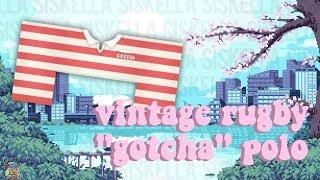 "ROBLOX Speed Design: Vintage Rugby ""Gotcha"" Polo | Siskella"