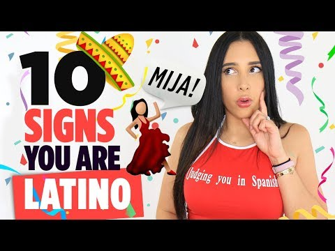 10 Signs You're LATINO 🇲🇽🇨🇺🇻🇪🇦🇷🇨🇴| Mar
