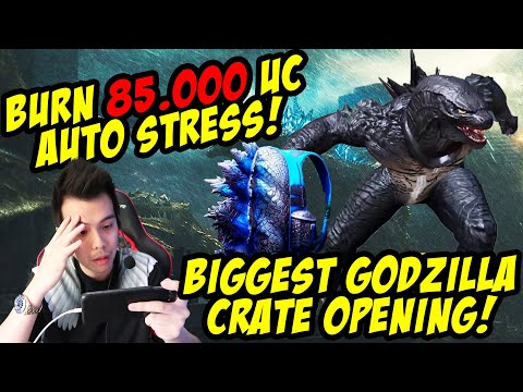 BAKAR 85.000 UC DEMI SKIN THE REAL GODZILLA MONSTROUS SUIT + Giveaway 5250 UC! PUBG MOBILE