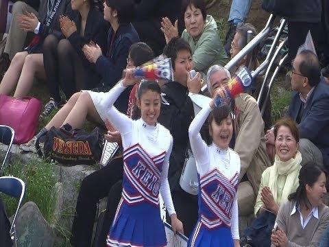 20080814 高校野球 第2試合 慶応チア4posted by Bistollicf
