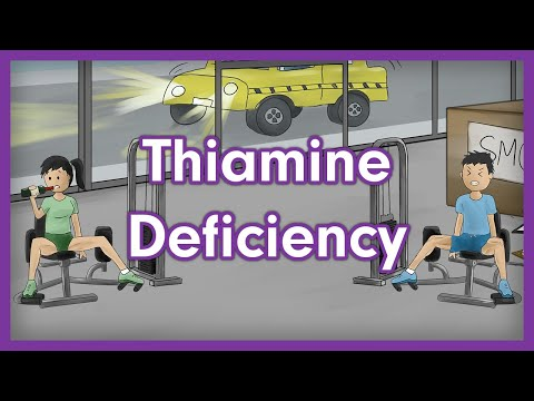 Thiamine Deficiency (Vitamin B1) - USMLE Step 1 Pathology Mnemonic