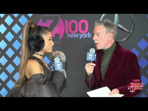 Ariana Grande interviewed at Z100's Jingle Ball 2016