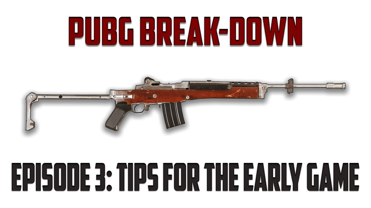 Playerunknown S Battlegrounds Maps Loot Maps Pictures: PUBG Break-Down: Episode 3 (3 Tips To Early Game Success