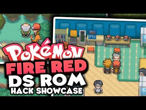 FIRE RED DS REMAKE!? - Pokémon Fire Red DS Edition - Showcase & Gameplay!