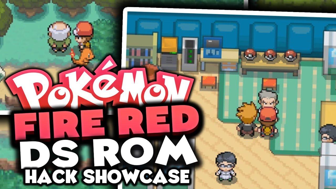 roms for pokemon fire red