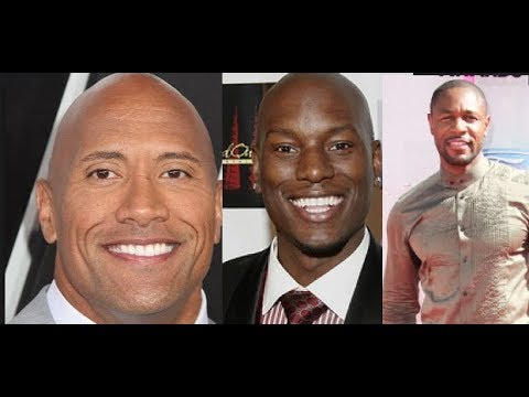 The Rock (Dwayne Johnson) RECRUTS Tyrese ENEMY Tank for Hobbs Movie Fast Spinoff. Tyrese #Candya##