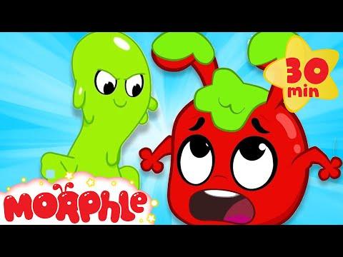 Oh No Moprhle's Slimed - My Magic Pet Morphle | Cartoons For Kids | Morphle TV