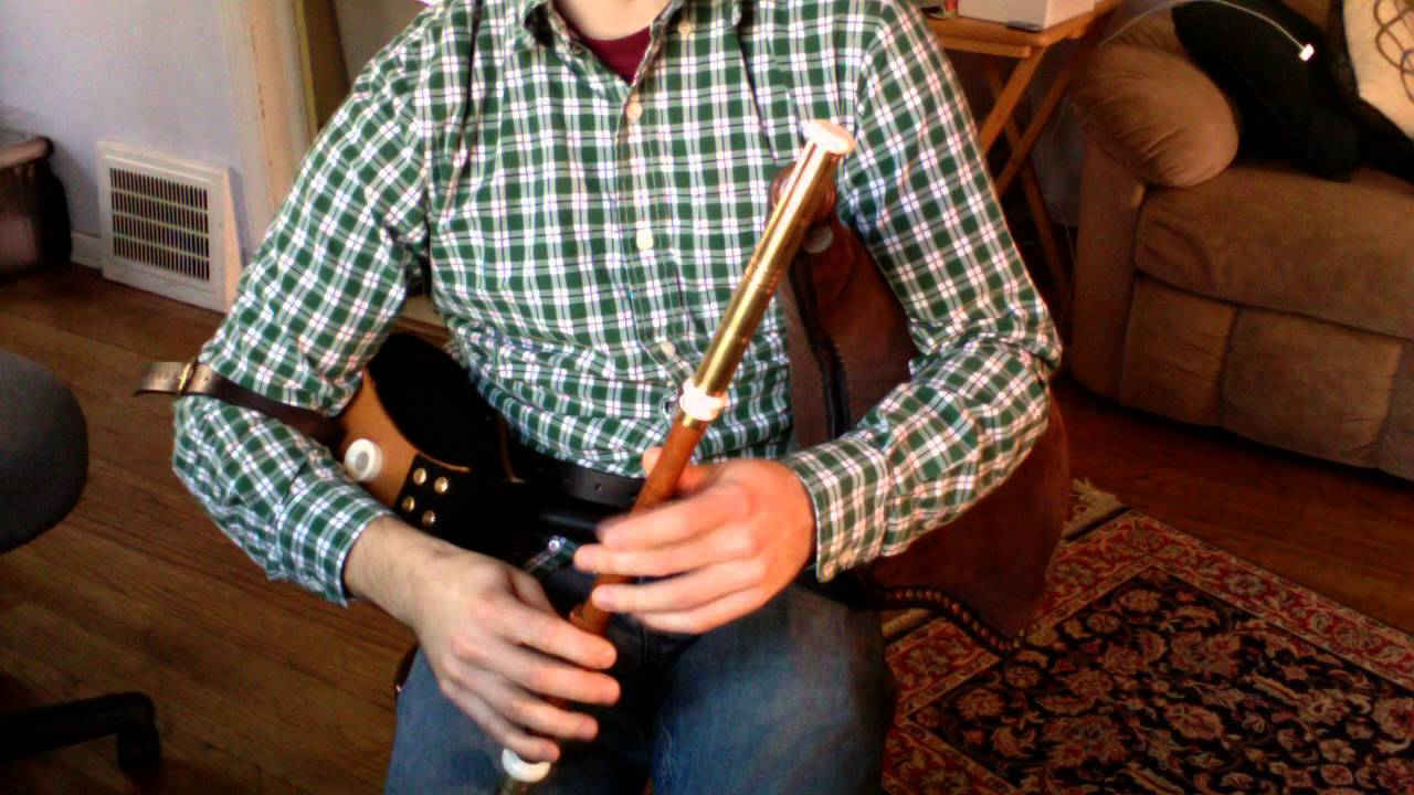 Uilleann Pipes Practice Set - YouTube