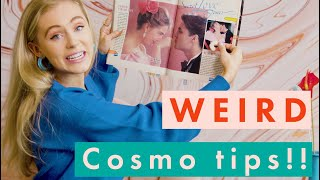 Gross Diet Foods and Secret Love Zones?! | Weird Tips We Found in Old Cosmos | Cosmopolitan
