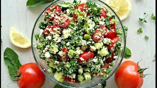 Salad Recipe: Tabbouleh Salad by Everyday Gourmet with Blakely