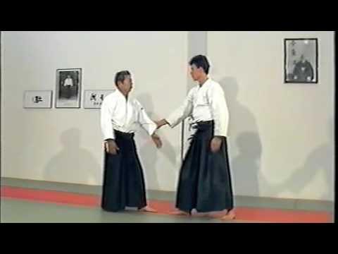 Morihiro Saito Sensei. Sode Guchi Dori