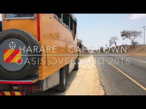Zimbabwe to South Africa with Oasis Overland 2016