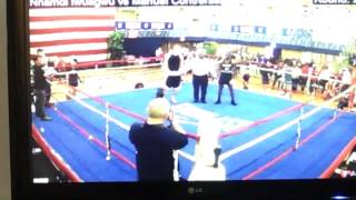 2012 Boxing Nationals Results
