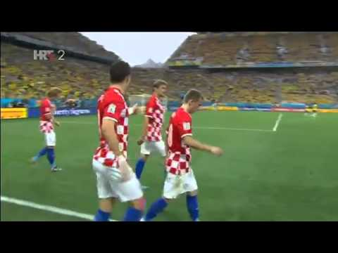 Brazil   Hrvatska  3-1 Marcelo Auto Gol