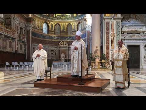 Abp Ryś na Lateranie: Pan przychodzi z przyszłości - Jego jest czas, Jego jest przyszłość
