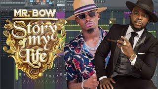 Mr. Bow X Diamond Platnumz - Como Fazer Instrumental Estilo Story Of My Life - Tutorial Fl Studio