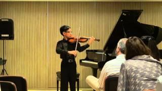 Bach - Violin Partita No.2 in D minor, BWV 1004. III. Sarabande