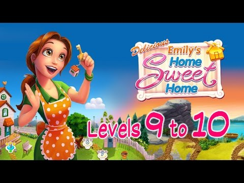 Delicious: Emily's Home Sweet Home Walkthrough [Levels 9 to 10]
