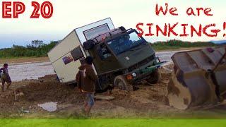 BOLIVIA OFFROAD: Wir stecken fest! LKW Flussdurchfahrt endet in Disaster - ZEITreiseEp 20