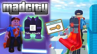 HOW TO GET KEYCARD AND JET PACK EASY AND FAST ? MADCITY ROBLOX