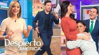 Raúl González puso a bailar a todos en Despierta América
