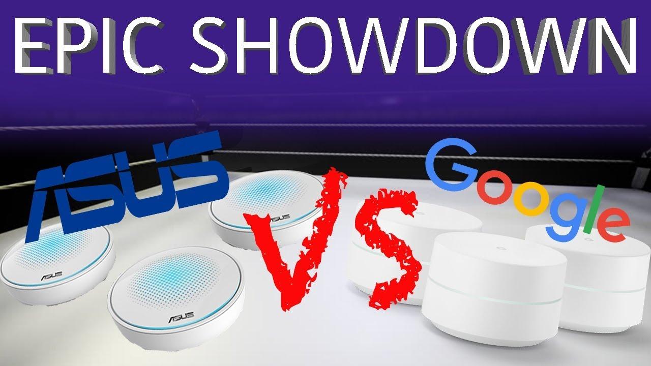 Google Wifi vs Asus Lyra