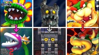 All Super Mario Galaxy Boss Battles Recreated in Super Mario Maker 2