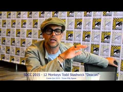 SDCC 2015  12 Monkeys Todd Stashwick on Who's Really