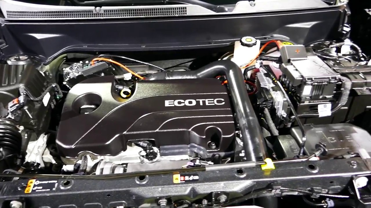 New 2018 GM Chevrolet Equinox - How To Open The Hood ...