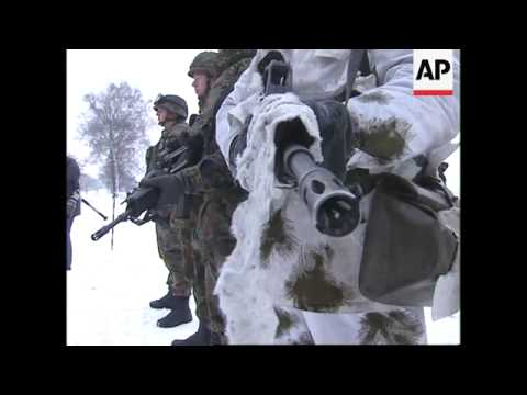 GERMANY: NATO FORCES PREPARE FOR POSSIBLE KOSOVO MISSION