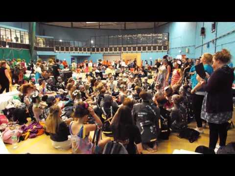 Thornton Grammar School express themselves!