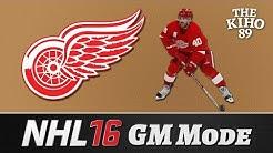 "NHL 16 GM Mode: Detroit Jakso 42 ""Orastava palkkakatto-ongelma"""