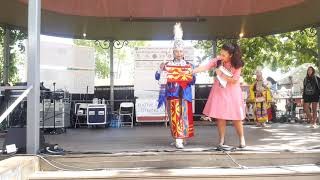 SF INDIAN MARKET 2019  - TRADITIONAL NATIVE AMERICAN CLOTHING CONTEST  - Girls Traditional