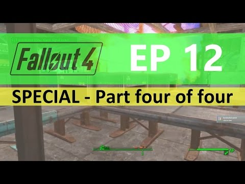 Fallout 4 : EP12 - Food facility FULL build - Part four of four