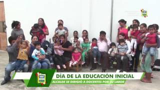 JOSÉ REYES PARTICIPÓ DEL ACTO PROTOCOLAR POR CONMEMORACIÓN DEL DÍA DE LA EDUCACIÓN INICIAL