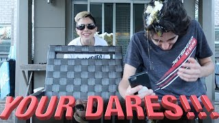 DOING YOUR DARES!!! 😂| Christian Lalama