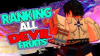 RANKING ALL DEVIL FRUITS IN PIRATE EMPEROR | THE BEST DEVIL FRUIT TIER LIST