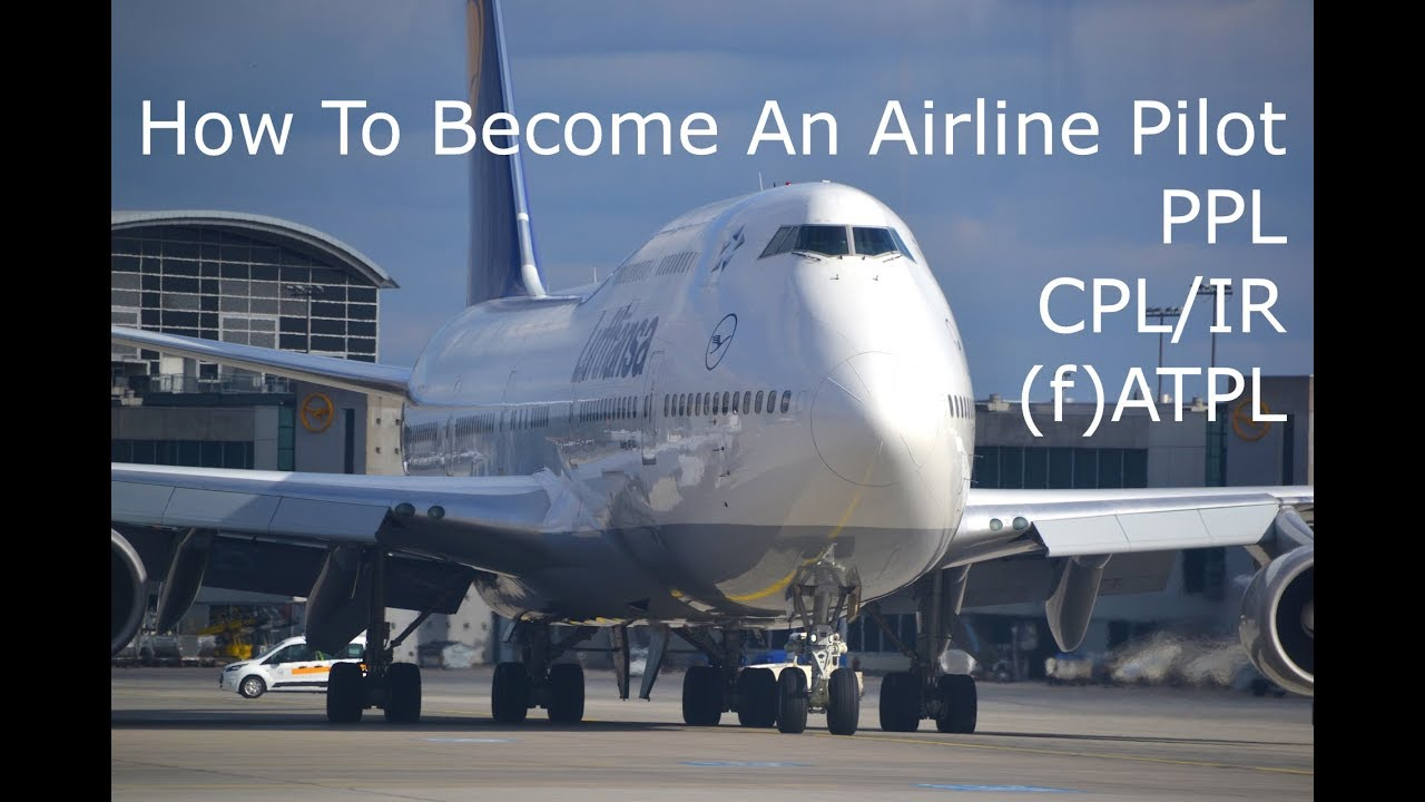 How do I become a commercial airline pilot?