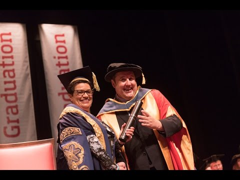 Peter Kay Honorary Degree Graduation Ceremony July 2016