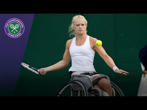 De Groot beats Ellerbrock to win Wimbledon 2017 ladies' wheelchair singles title