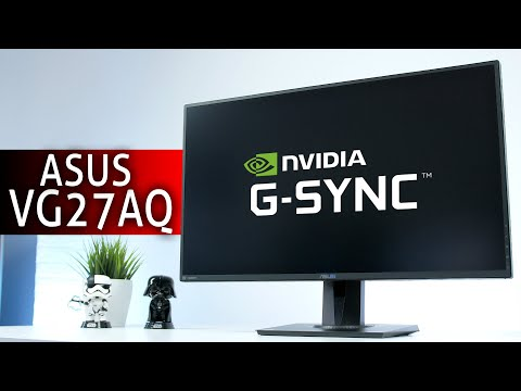 Der BESTE GAMING MONITOR 2020 | ASUS VG27AQ 165Hz G Sync ELMB Test Review