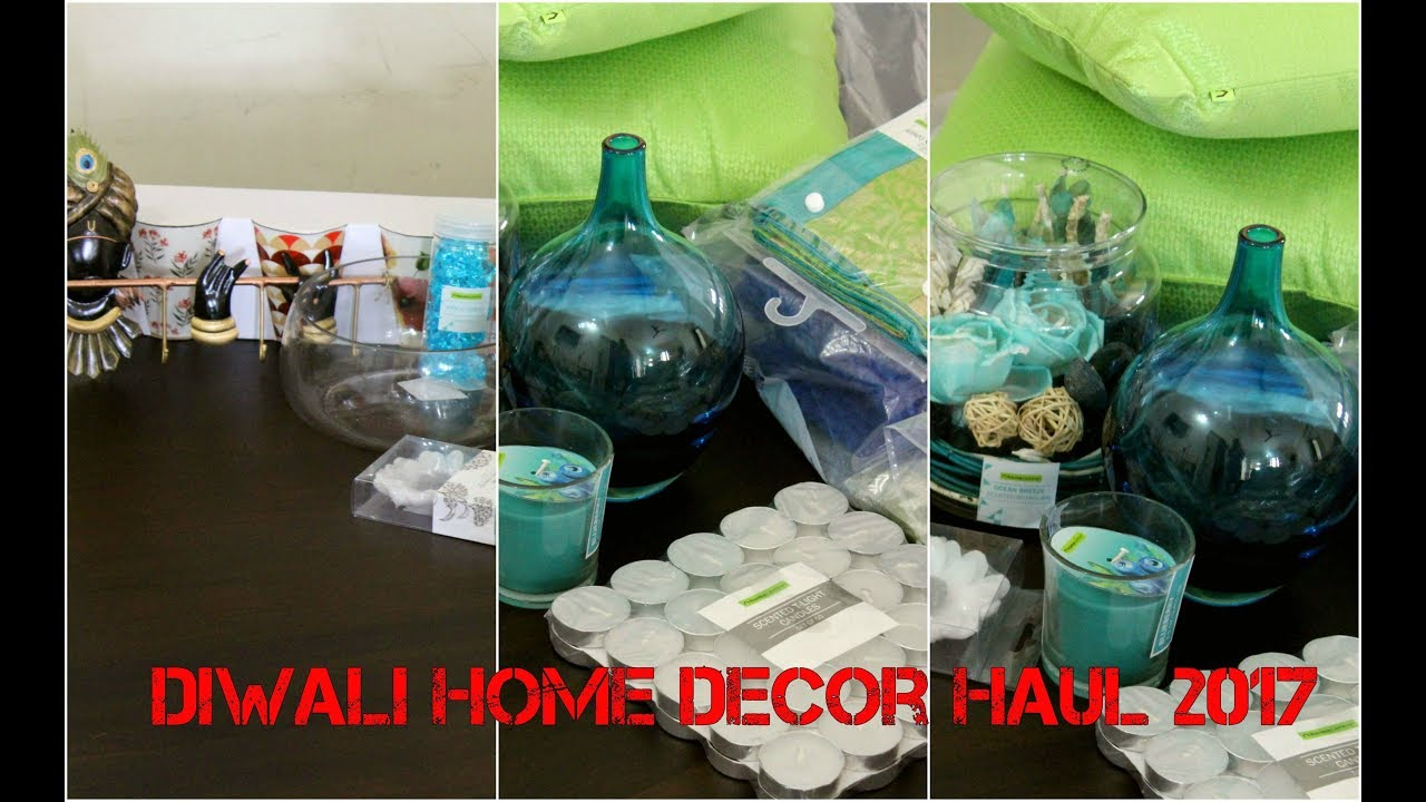 India Home Decor Shopping Haul Homecentre Shopping Haul Amazon India Decor Haul Youtube