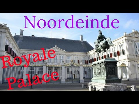 "Royal Palace ""Noordeinde"" The Hague (Den Haag) The Netherlands (4K)"