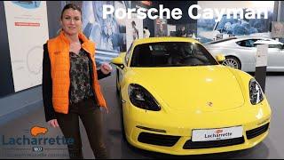 La Porsche 718 Cayman - Un Véhicule d'Exception !