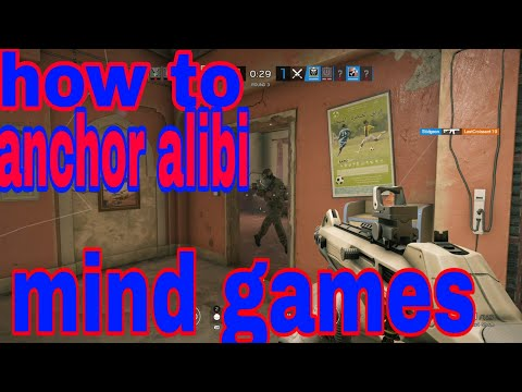 How to anchor as alibi mind game