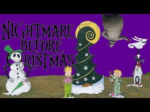 Christmas Yard Decor Disney Nightmare Before Christmas Jack Skellington Christmas Lawn Decorations