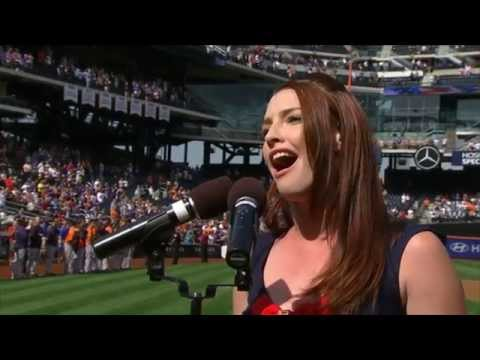 New York Mets Closing Day National Anthem 2014